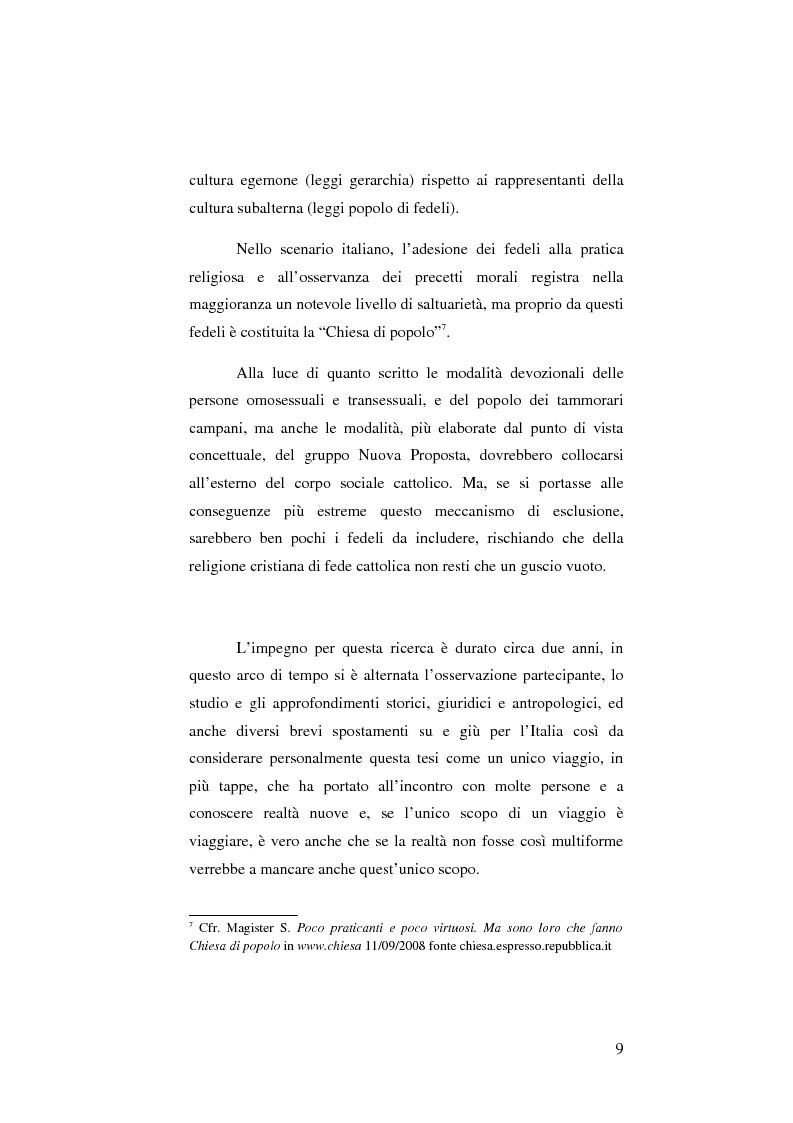 Anteprima della tesi: Mamma Schiavona, il Femminiello e l'Abate, Pagina 9