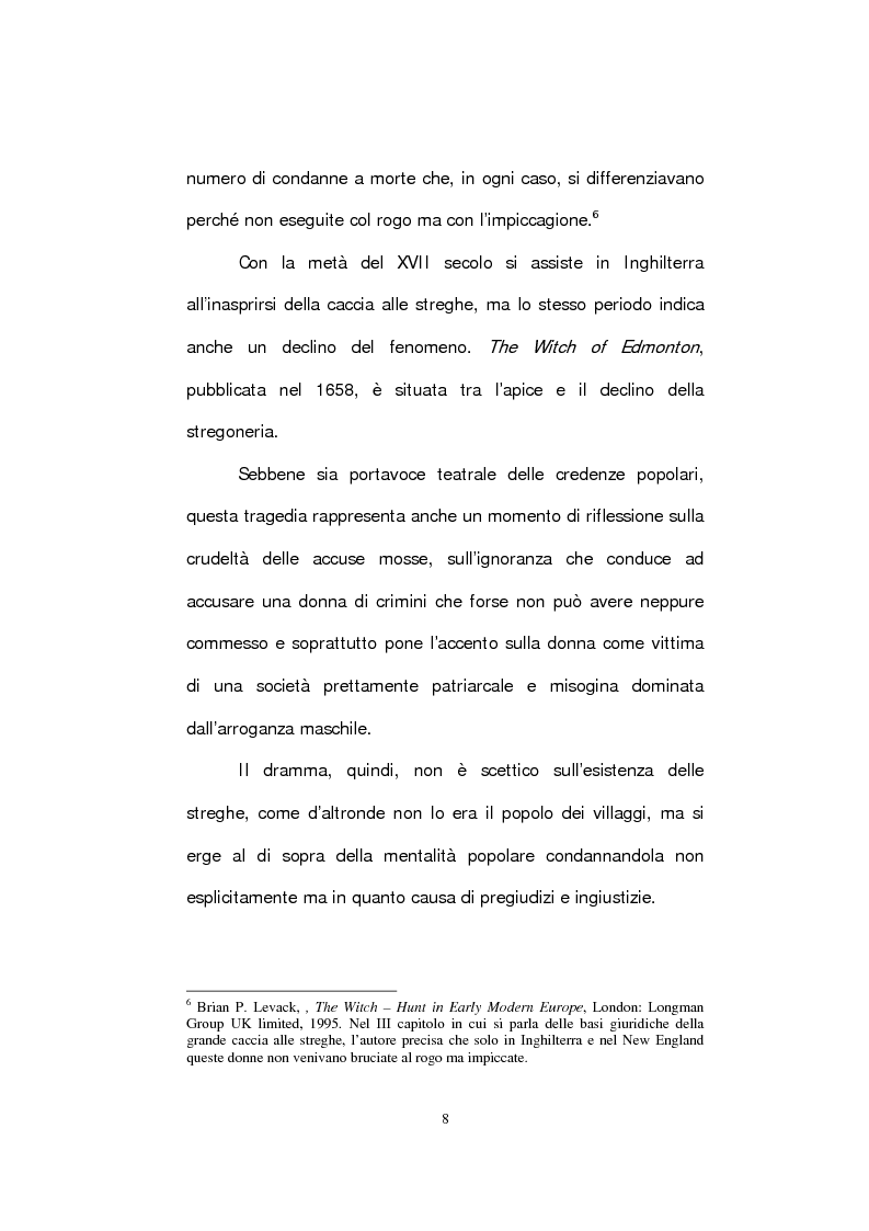 Anteprima della tesi: The Witch of Edmonton, Pagina 10