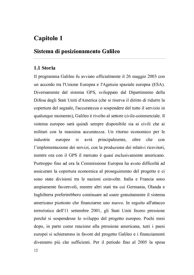 """Anteprima della tesi: Sviluppo di un modello software """"transaction level"""" per il banco di correlatori di un ricevitore Galileo, Pagina 4"""