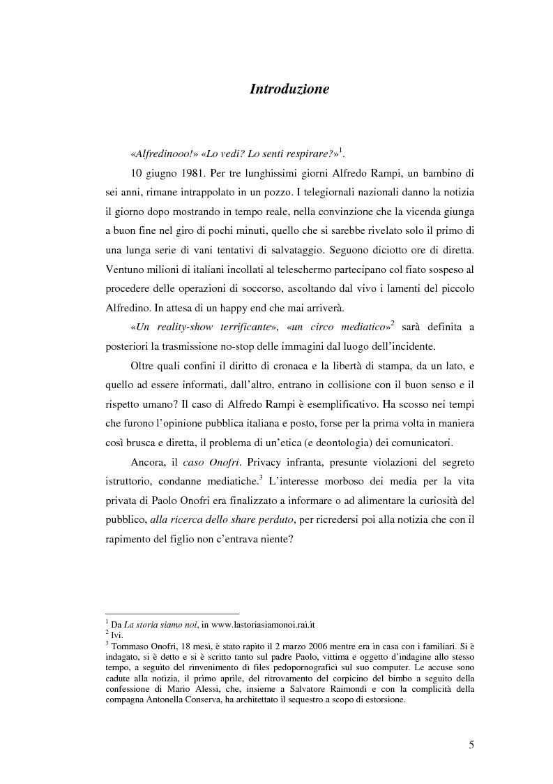 Anteprima della tesi: Storia delle deontologie dei comunicatori, Pagina 1