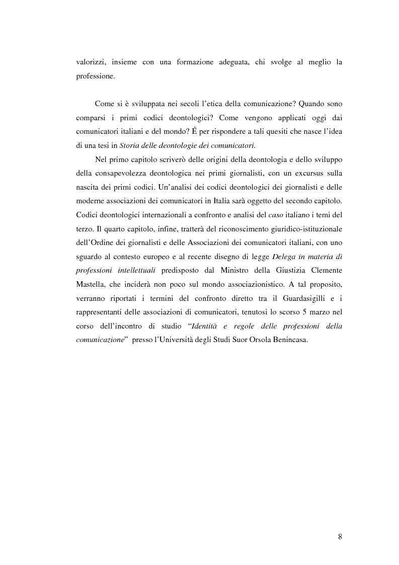 Anteprima della tesi: Storia delle deontologie dei comunicatori, Pagina 4