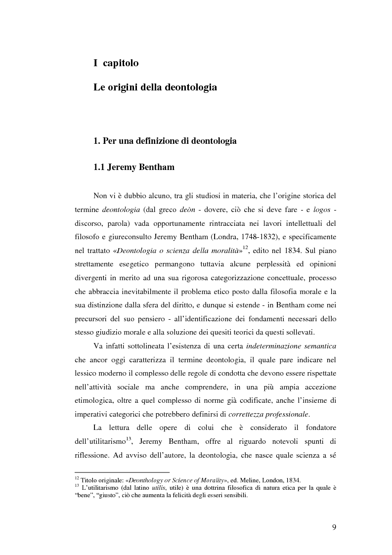 Anteprima della tesi: Storia delle deontologie dei comunicatori, Pagina 5