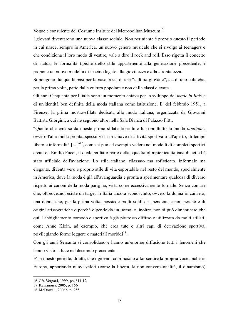 Anteprima della tesi: Déshabillé. Un'indagine sociosemiotica sull'abbigliamento domestico contemporaneo, Pagina 12