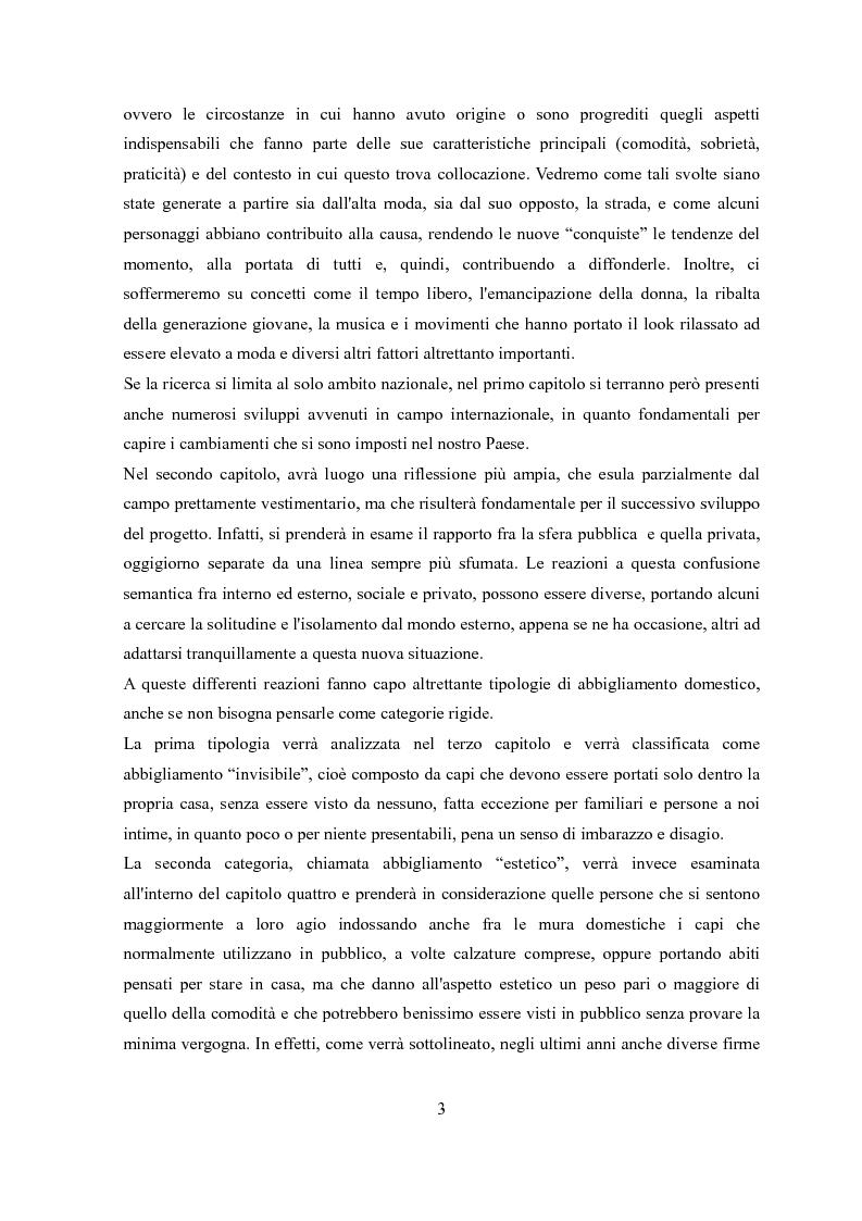 Anteprima della tesi: Déshabillé. Un'indagine sociosemiotica sull'abbigliamento domestico contemporaneo, Pagina 2