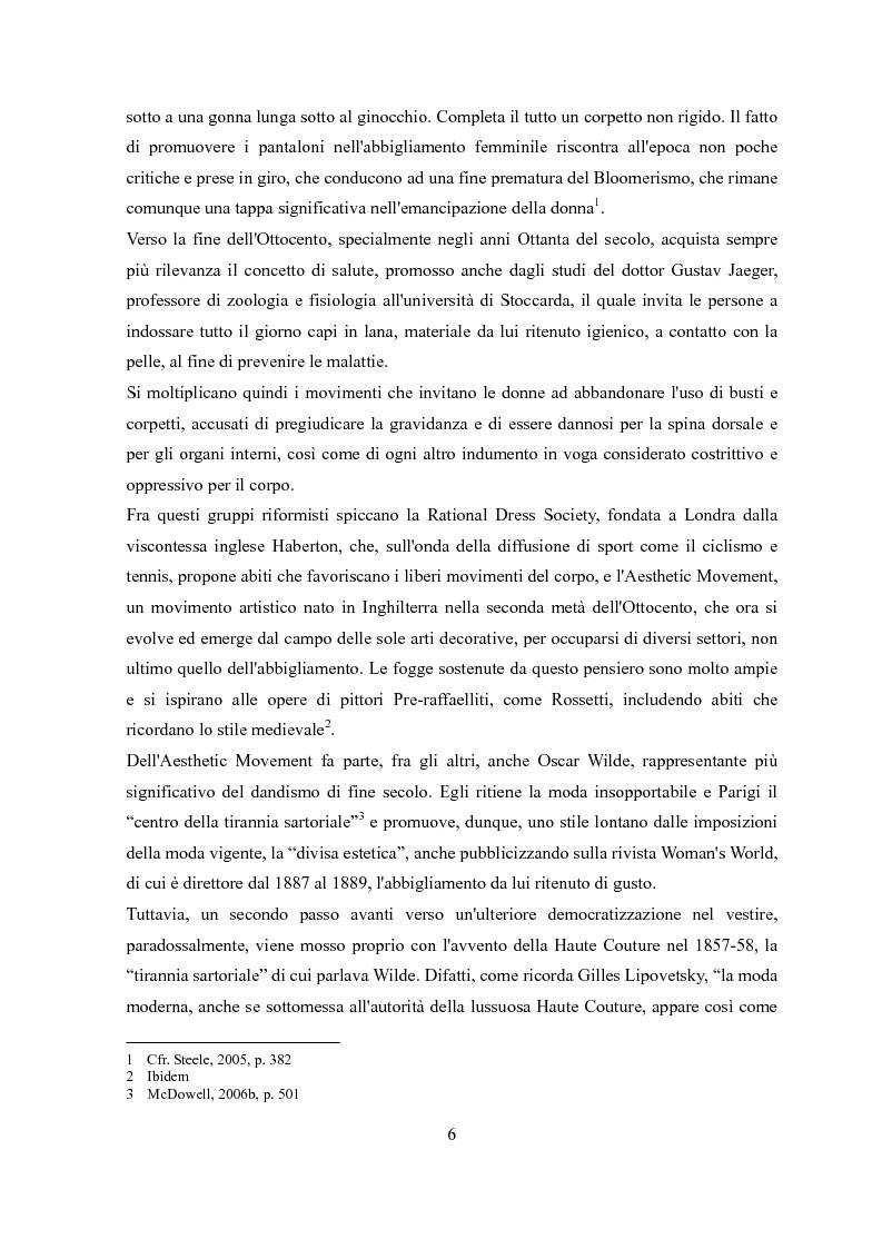Anteprima della tesi: Déshabillé. Un'indagine sociosemiotica sull'abbigliamento domestico contemporaneo, Pagina 5