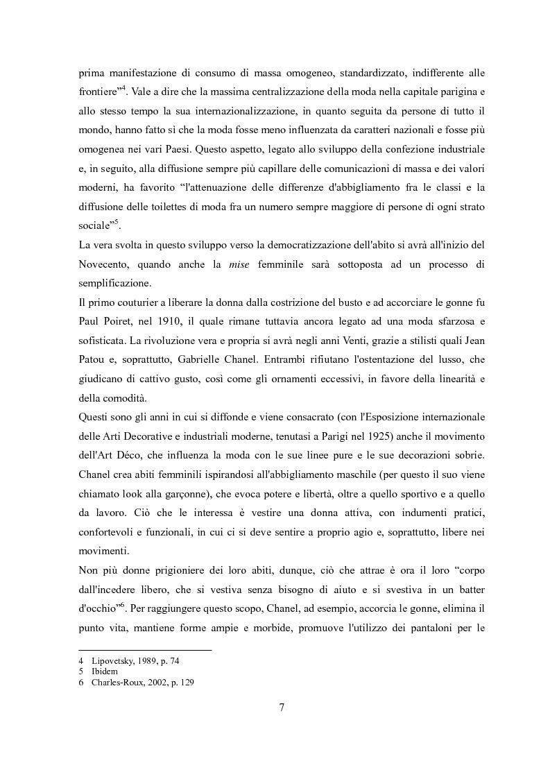 Anteprima della tesi: Déshabillé. Un'indagine sociosemiotica sull'abbigliamento domestico contemporaneo, Pagina 6