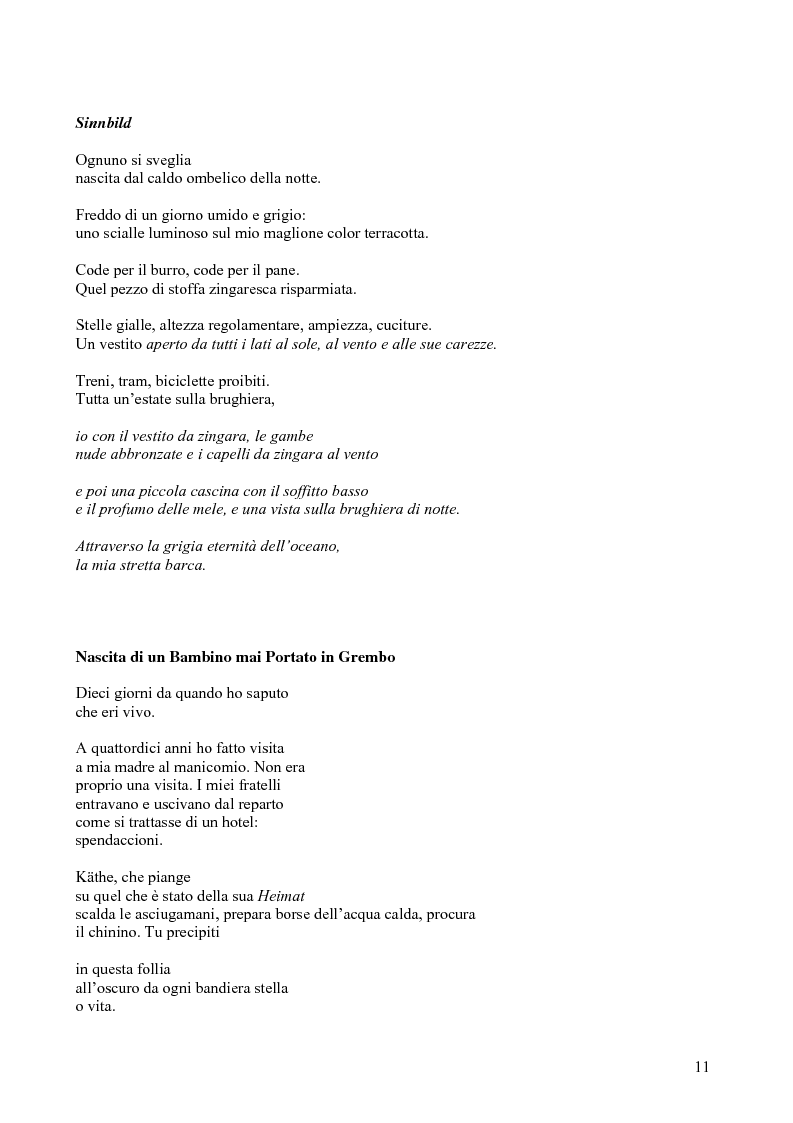 Anteprima della tesi: Janice Kulyk Keefer, Midnight Stroll: proposta di traduzione e commento, Pagina 11