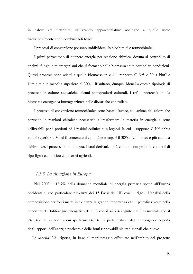 Anteprima della tesi: Metodo di analisi multicriteriale con metodologia GIS per la stima della biomassa agro-forestale applicato ad un impianto energetico presso il Pantano di Pignola, Pagina 12