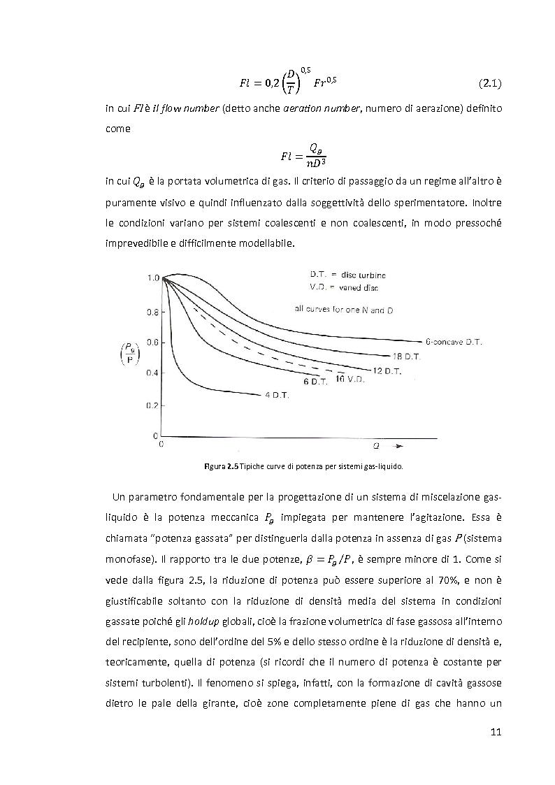 Anteprima della tesi: Modellazione e simulazione di dispersioni gas-liquido in recipienti agitati mediante tecniche di fluidodinamica numerica, Pagina 7