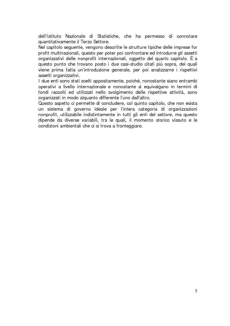 Anteprima della tesi: Sviluppo internazionale delle organizzazioni nonprofit, Pagina 2