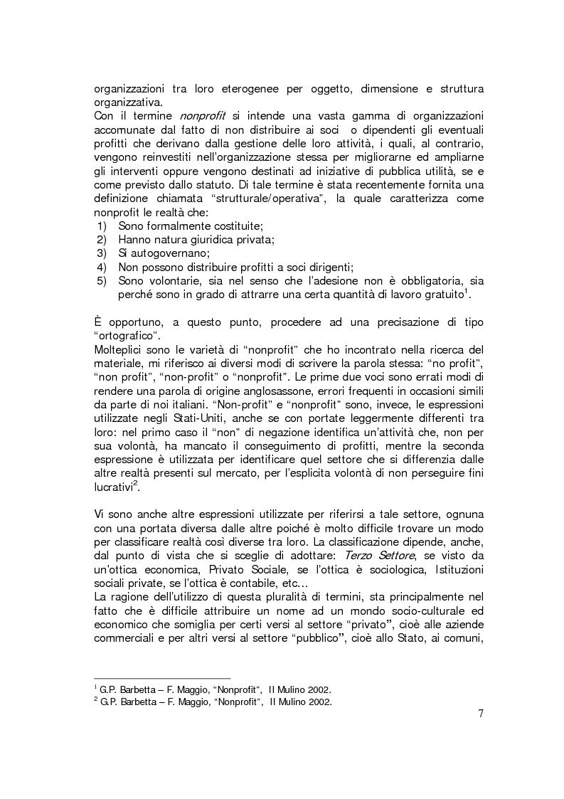 Anteprima della tesi: Sviluppo internazionale delle organizzazioni nonprofit, Pagina 4