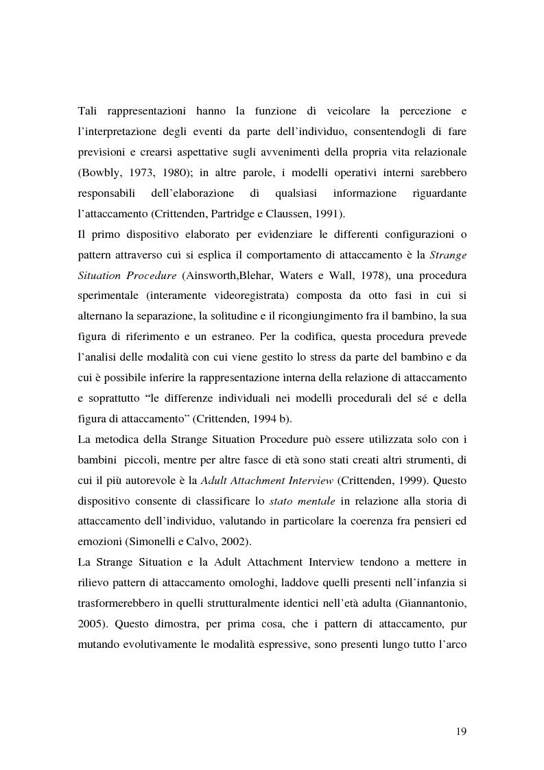 Anteprima della tesi: Lo sviluppo precoce dei disturbi di personalità nei bambini abusati, Pagina 13