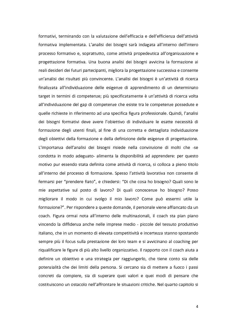 Anteprima della tesi: La formazione: un servizio outsourcing, Pagina 3