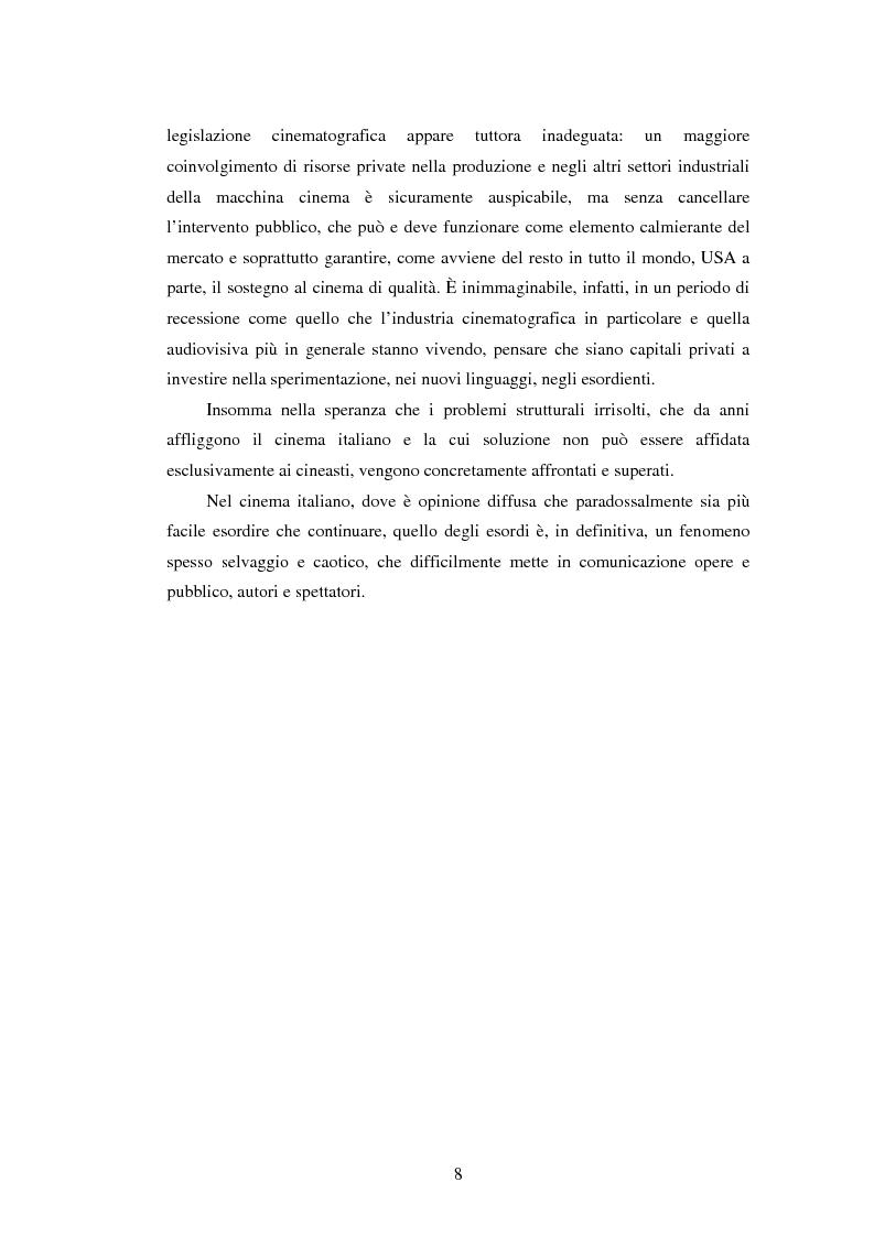 Anteprima della tesi: Il viaggio di Ferzan Ozpetek, Pagina 6
