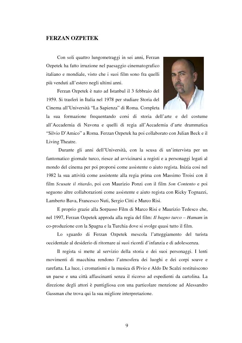 Anteprima della tesi: Il viaggio di Ferzan Ozpetek, Pagina 7