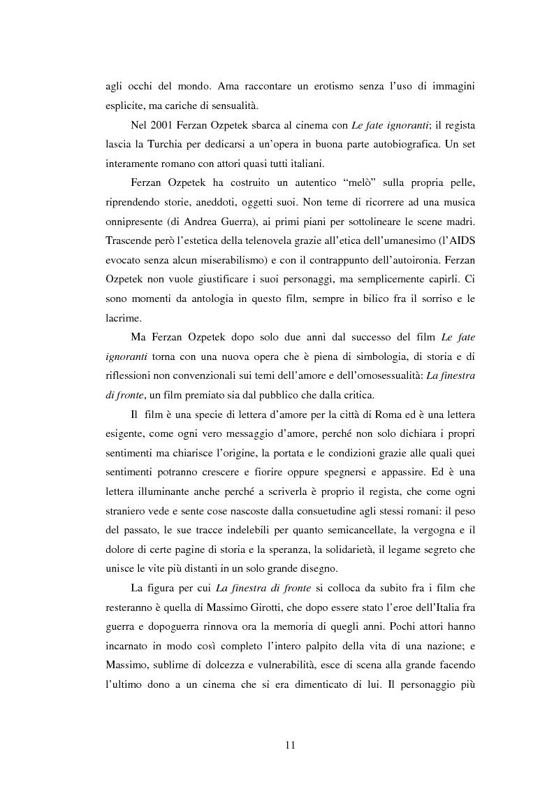 Anteprima della tesi: Il viaggio di Ferzan Ozpetek, Pagina 9