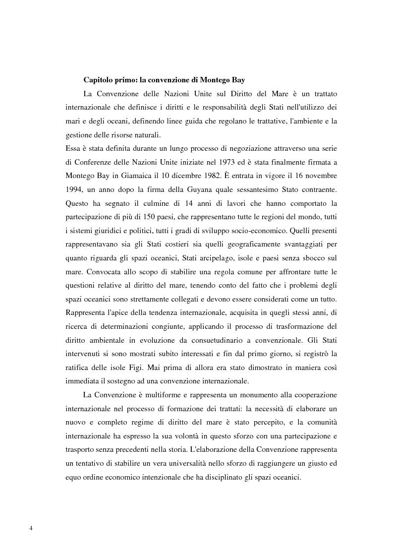 Anteprima della tesi: Il Mare Nostrum: da Montego Bay ai parchi marini, Pagina 2