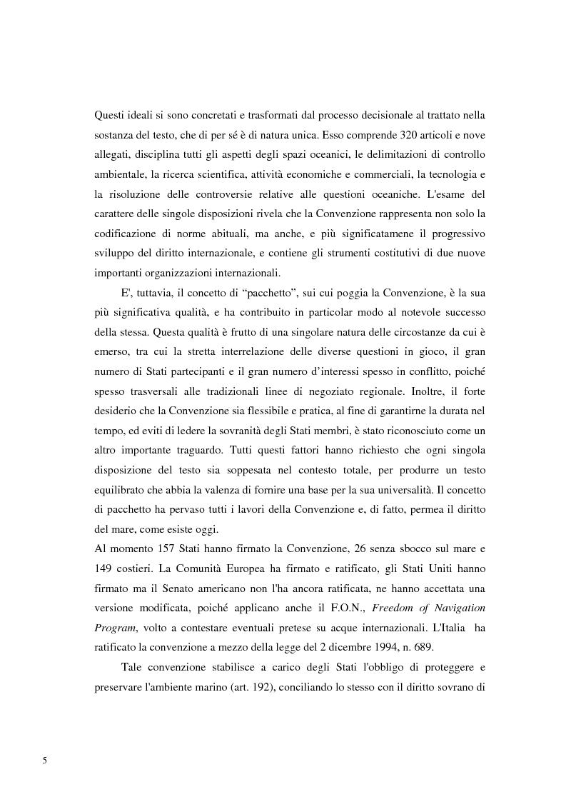 Anteprima della tesi: Il Mare Nostrum: da Montego Bay ai parchi marini, Pagina 3