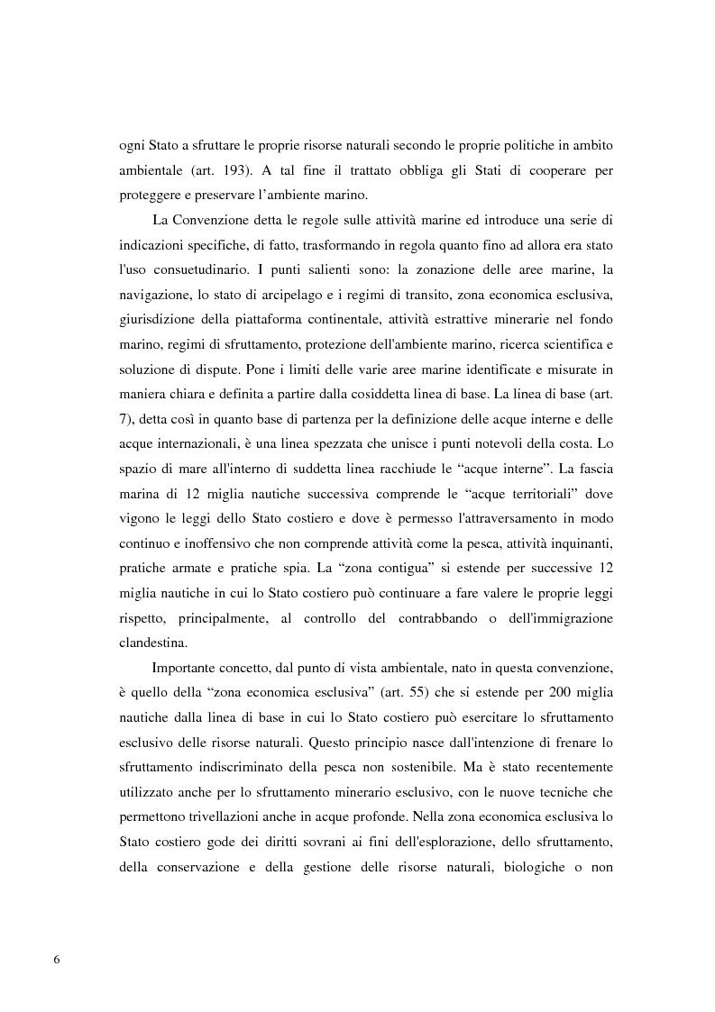 Anteprima della tesi: Il Mare Nostrum: da Montego Bay ai parchi marini, Pagina 4