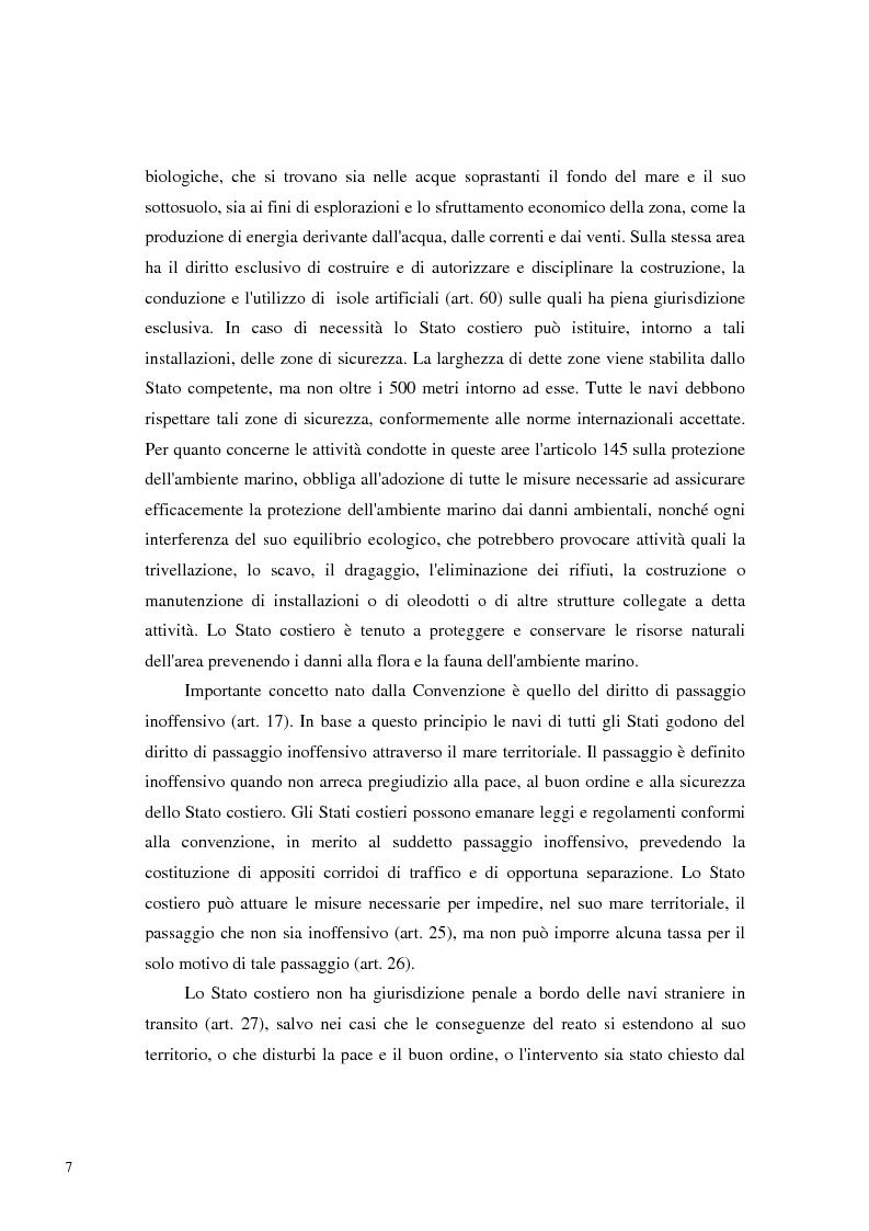 Anteprima della tesi: Il Mare Nostrum: da Montego Bay ai parchi marini, Pagina 5