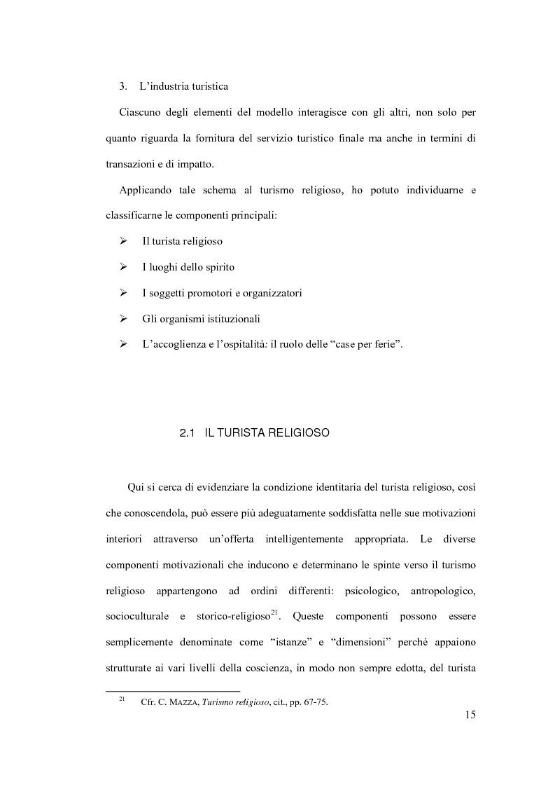 Anteprima della tesi: Il diritto al turismo religioso nell'ordinamento internazionale e comunitario, Pagina 11