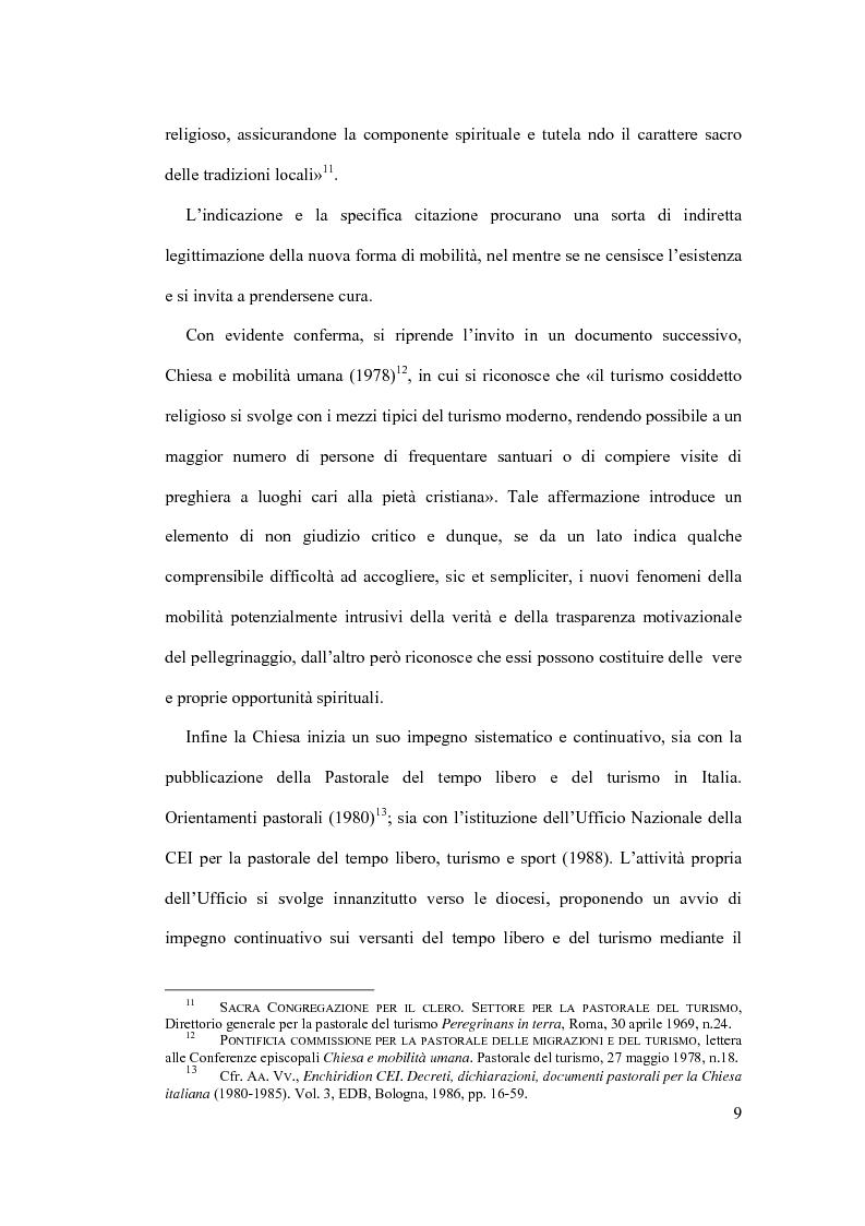 Anteprima della tesi: Il diritto al turismo religioso nell'ordinamento internazionale e comunitario, Pagina 5