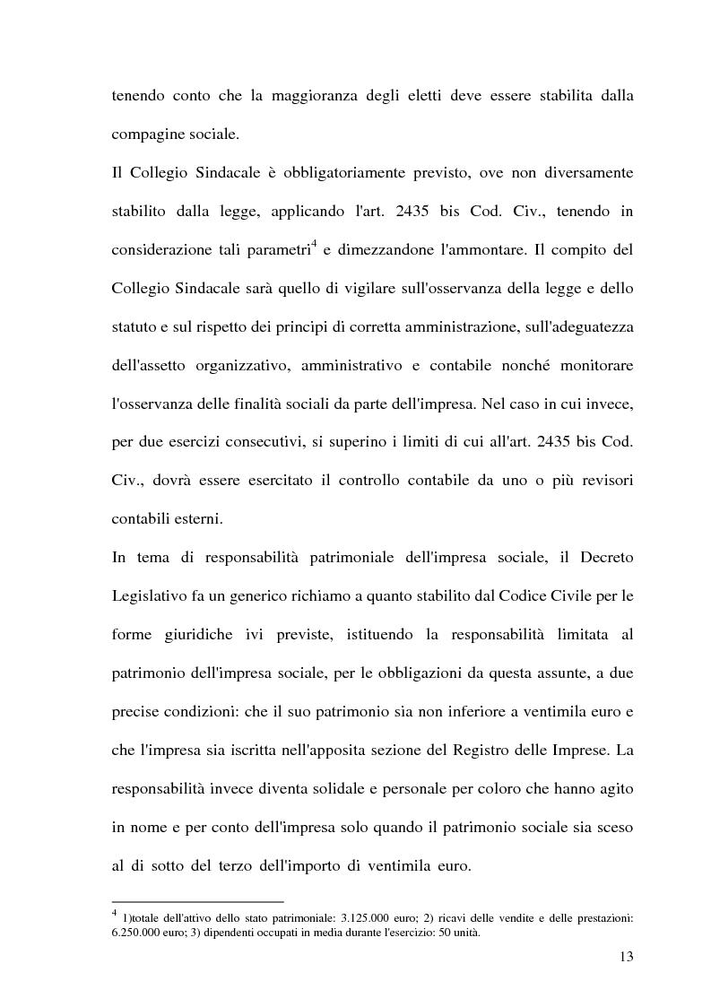 Anteprima della tesi: Impresa sociale: rendicontazione e bilancio sociale. Il caso delle aziende scolastiche, Pagina 11