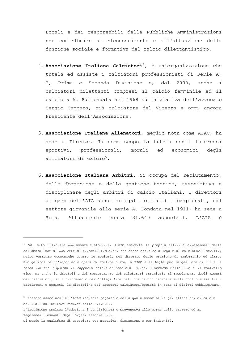 Anteprima della tesi: Il gioco del calcio: investire nel settore giovanile, il valore aggiunto per il club, Pagina 4