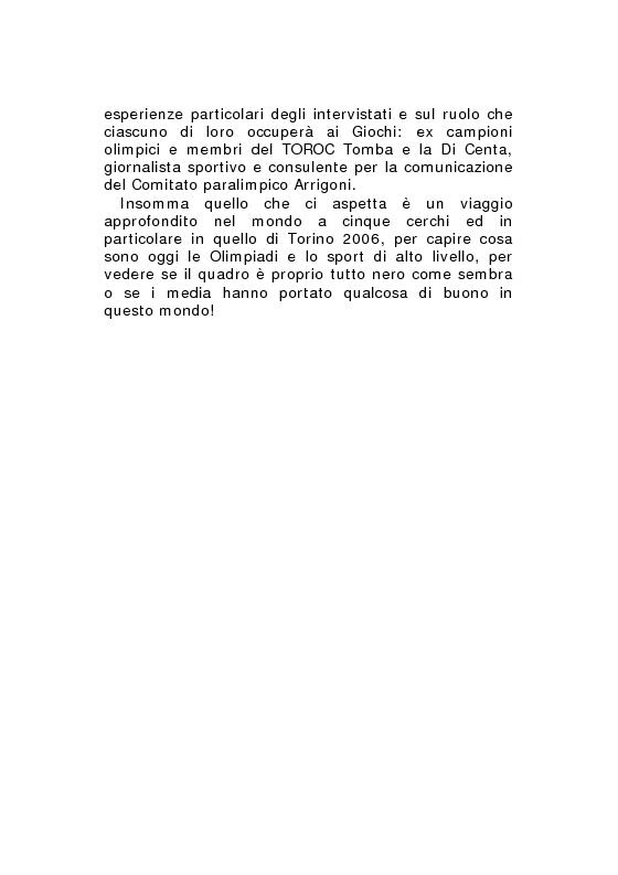 Anteprima della tesi: Olimpiadi e media: il caso Torino 2006, Pagina 6