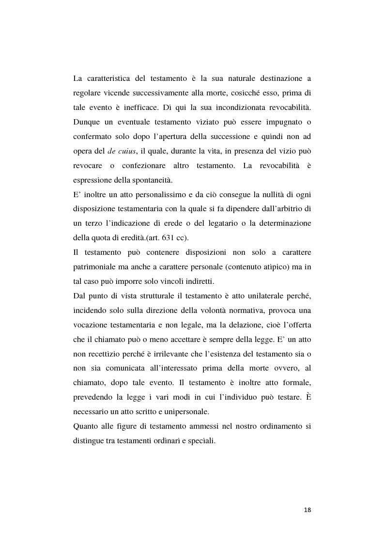 Anteprima della tesi: Il patto di famiglia, Pagina 11