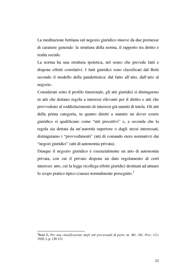 Anteprima della tesi: Il patto di famiglia, Pagina 5