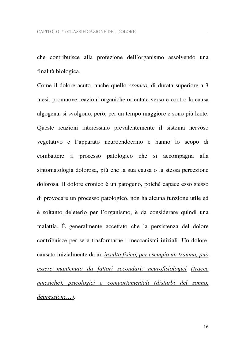 Anteprima della tesi: Assistenza al paziente con dolore cronico, Pagina 14