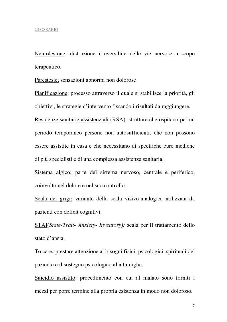 Anteprima della tesi: Assistenza al paziente con dolore cronico, Pagina 5