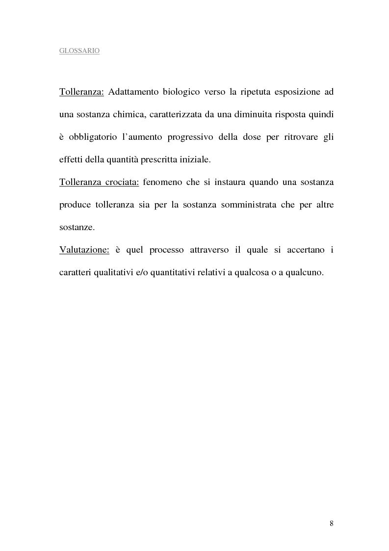 Anteprima della tesi: Assistenza al paziente con dolore cronico, Pagina 6