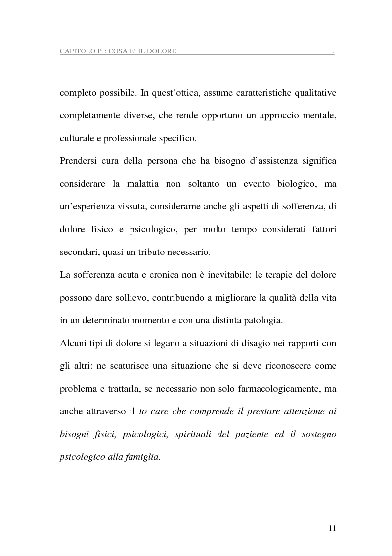 Anteprima della tesi: Assistenza al paziente con dolore cronico, Pagina 9