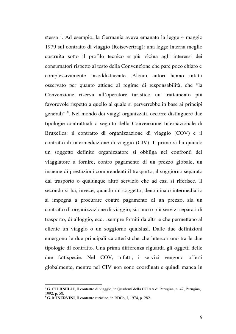 Anteprima della tesi: Il danno morale da ''vacanza rovinata'' nell'ordinamento comunitario, Pagina 8