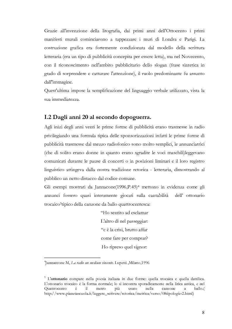 Anteprima della tesi: Che spot c'è stasera? L'advertainment di Maxi Tim Casa tra nostalgia e comicità, Pagina 6
