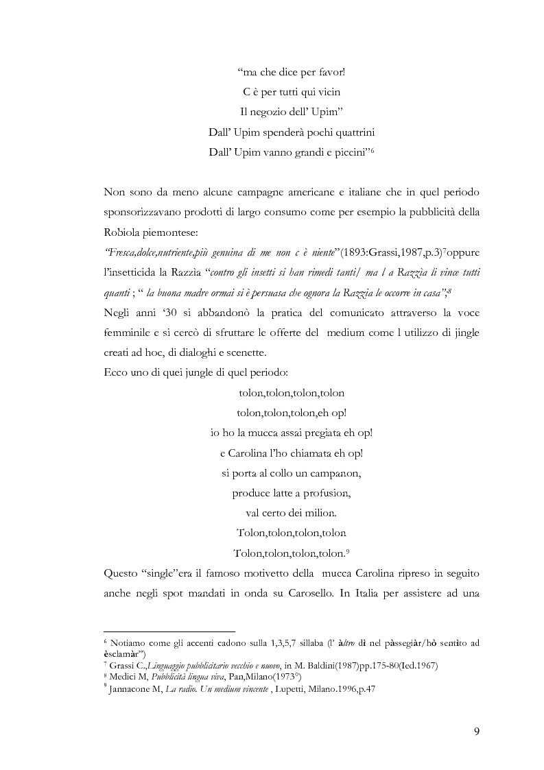 Anteprima della tesi: Che spot c'è stasera? L'advertainment di Maxi Tim Casa tra nostalgia e comicità, Pagina 7