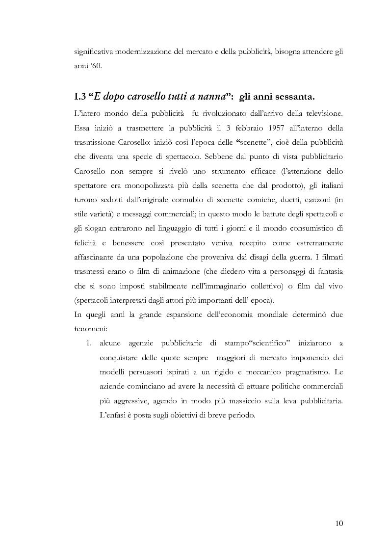 Anteprima della tesi: Che spot c'è stasera? L'advertainment di Maxi Tim Casa tra nostalgia e comicità, Pagina 8