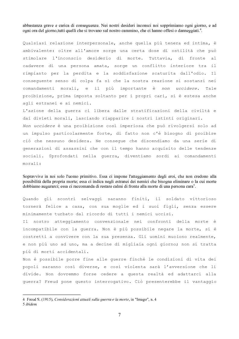 Anteprima della tesi: Soldati di pace e criminali di guerra nella società moderna e contemporanea, Pagina 5