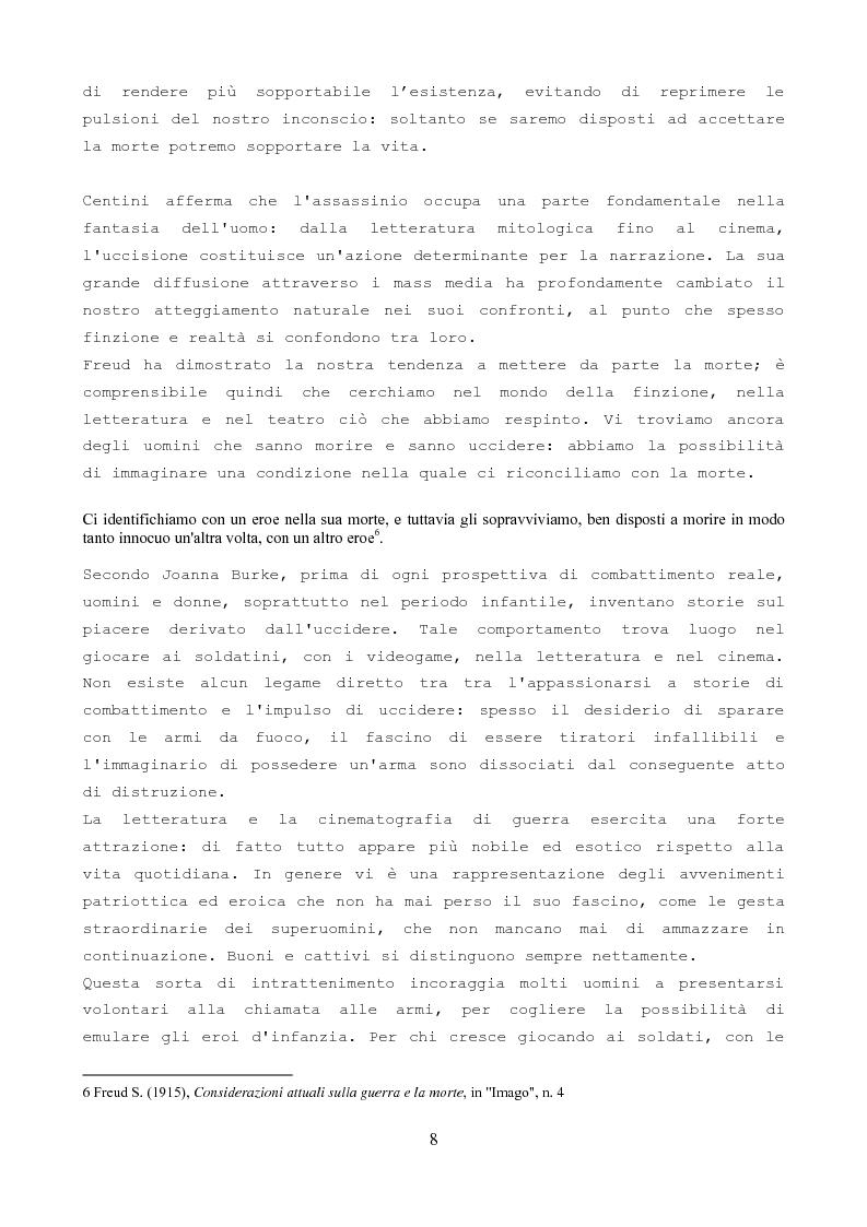 Anteprima della tesi: Soldati di pace e criminali di guerra nella società moderna e contemporanea, Pagina 6
