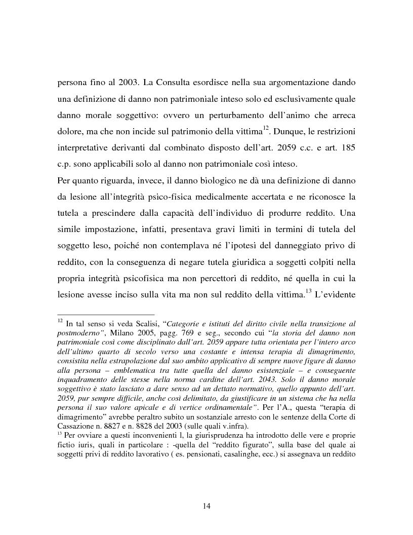 Anteprima della tesi: Il danno non patrimoniale da inadempimento, Pagina 10