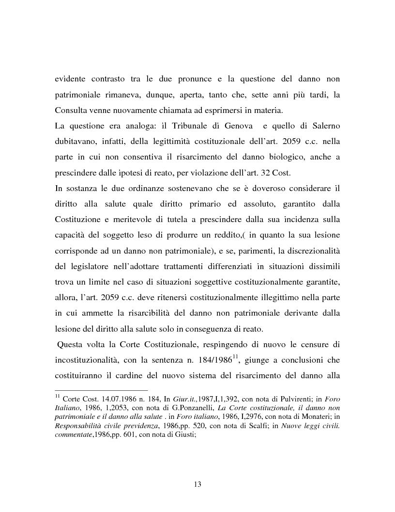 Anteprima della tesi: Il danno non patrimoniale da inadempimento, Pagina 9