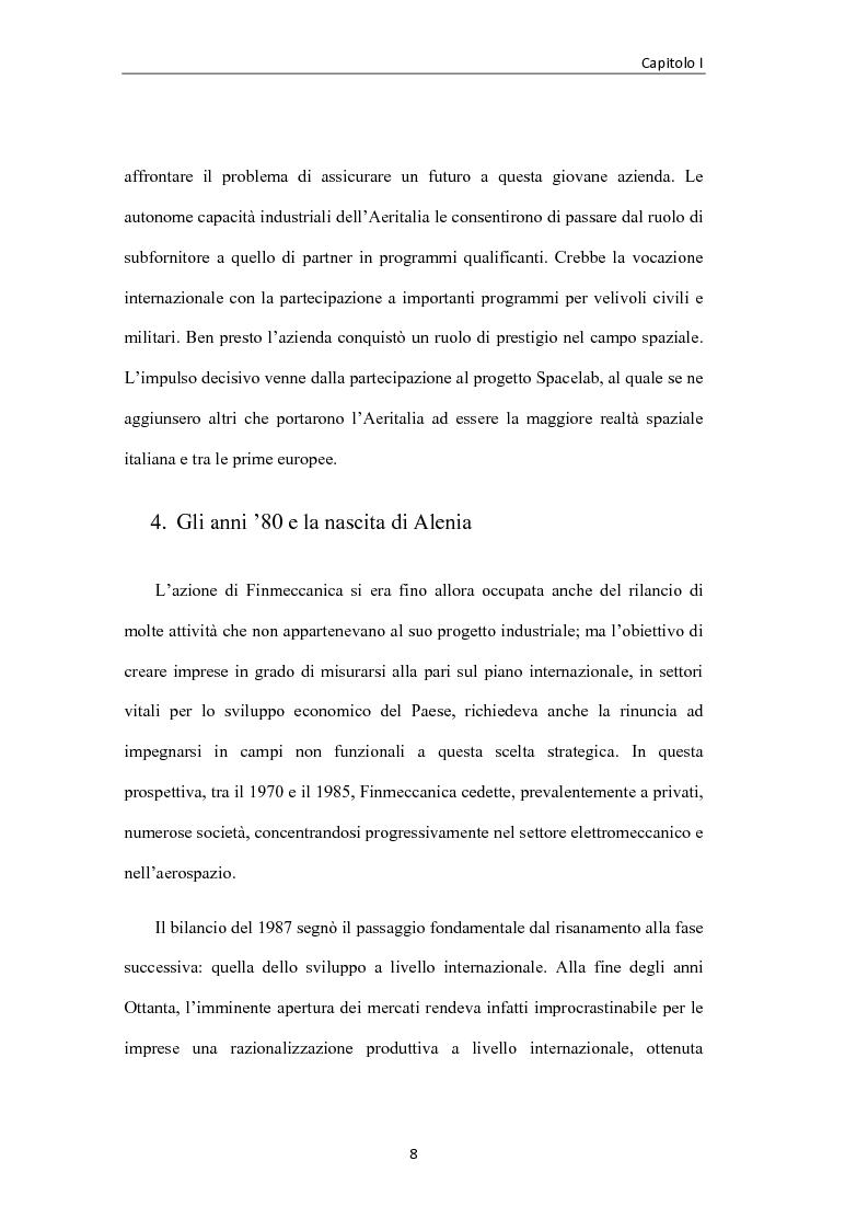 Anteprima della tesi: L'industria aerospaziale in Italia: un'analisi geografica, Pagina 8