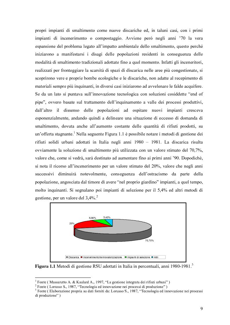 Anteprima della tesi: Il combustibile derivato dai rifiuti ed il suo utilizzo nell'industria del cemento, Pagina 2