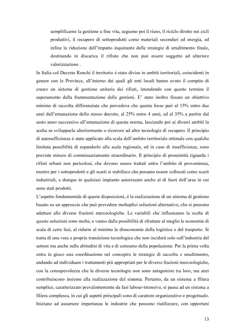 Anteprima della tesi: Il combustibile derivato dai rifiuti ed il suo utilizzo nell'industria del cemento, Pagina 6