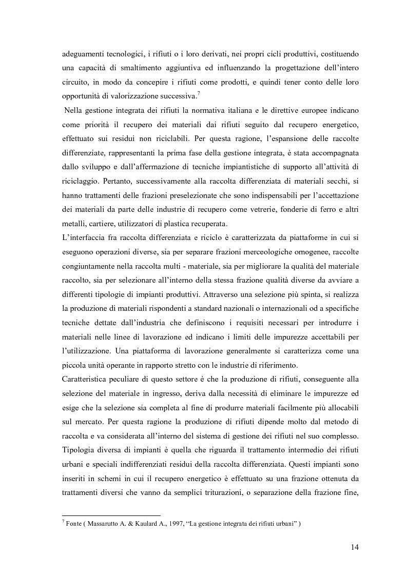 Anteprima della tesi: Il combustibile derivato dai rifiuti ed il suo utilizzo nell'industria del cemento, Pagina 7
