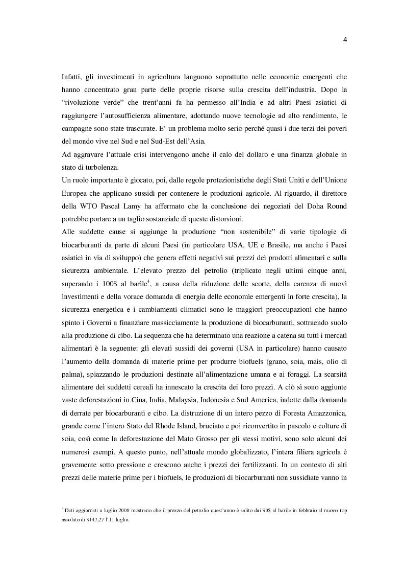 Anteprima della tesi: Millennium development goals: quali ostacoli al loro raggiungimento?, Pagina 6