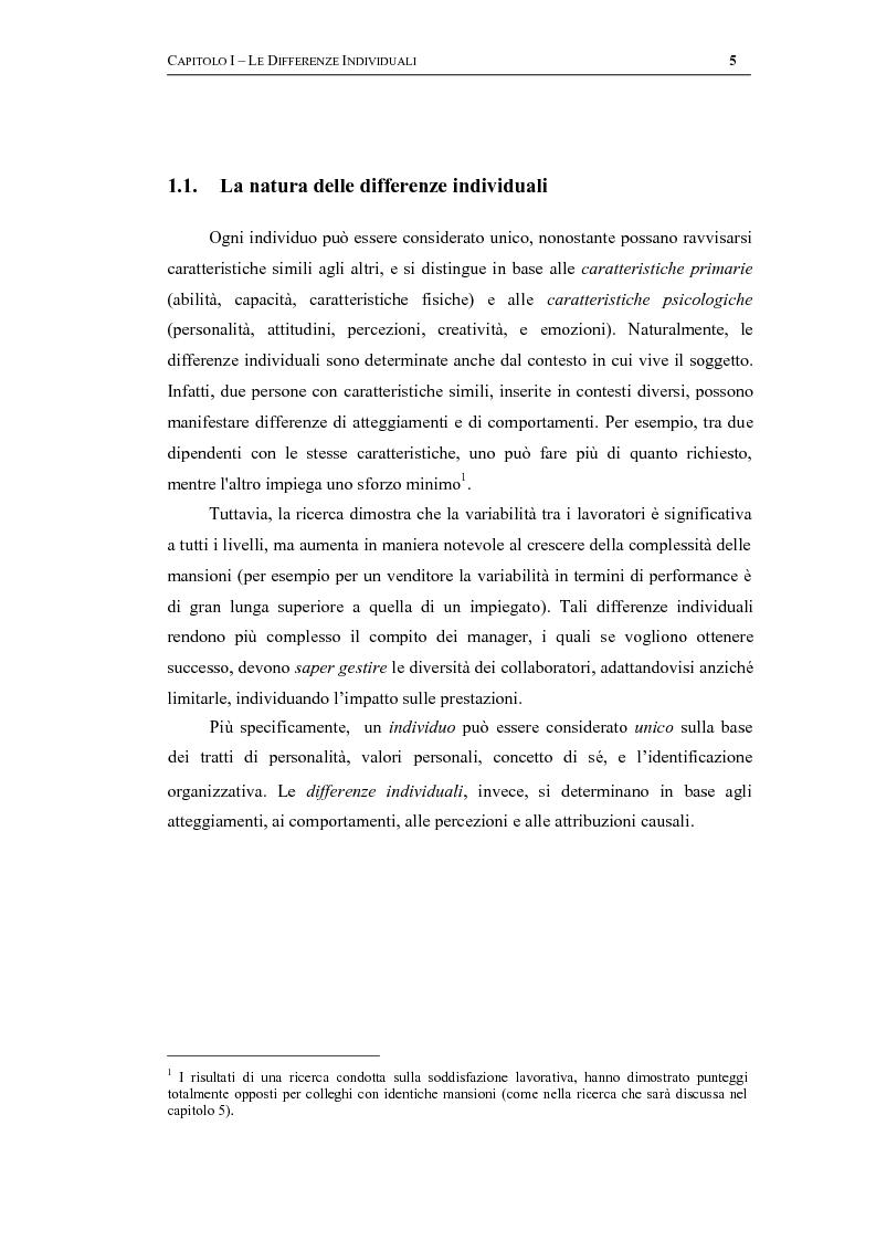 """Anteprima della tesi: Cittadinanza aziendale, giustizia organizzativa e motivazione al lavoro: una ricerca empirica sulla società """"Southern Data Processing"""", Pagina 5"""