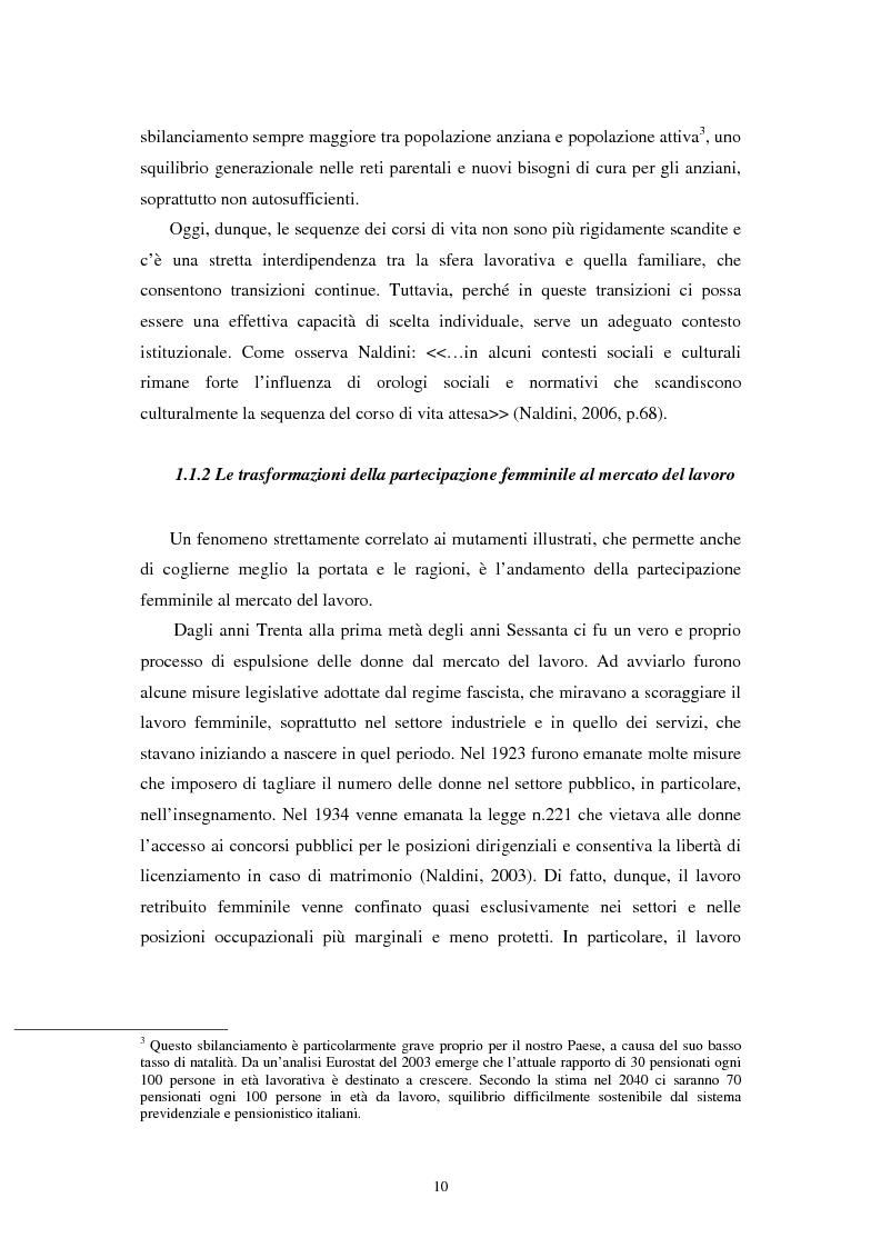 Anteprima della tesi: Verso modelli regionali di welfare? Il caso dei servizi di cura agli anziani, Pagina 7
